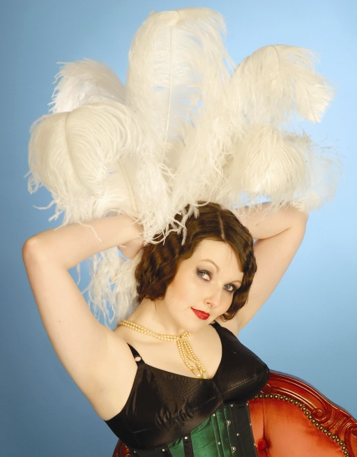 Kitty Cointreau in corset  - Photo by Kate Donovan