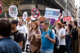 TUC Protest in Manchester